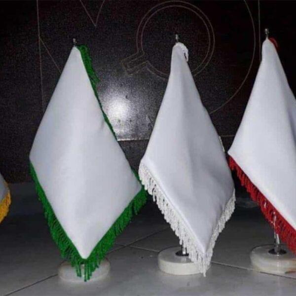 پرچم رومیزی خام